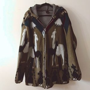 Artesanias Llama Soft Jacket, Size XL